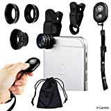 Best Smartphone Camera Lenses - Universal 3in1 Camera Lens and Shutter Remote Kit Review