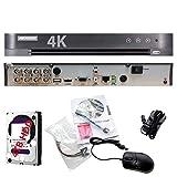 Risoluzione 4K 3MP 8CH Turbo HD DVR registratore video digitale 8canali 1080P CCTV hd-tvi ibrido TVI ds-7208hqhi-k1