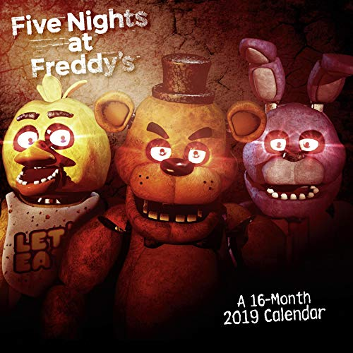 Close Up Calendario Five Nights at Freddy'S, 2019
