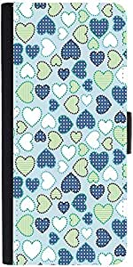 Snoogg Crystals Colourfuldesigner Protective Flip Case Cover For Sony Xperia Z