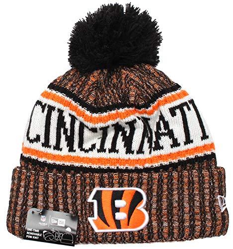 New Era - Cincinnati Bengals Beanie - on Field 2018 Sport OTC Knit - Orange/Black Cincinnati Bengals Beanie on Field 2018 Sport OTC Knit - Einheitsgröße