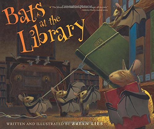 Bats at the Library (A Bat Book)