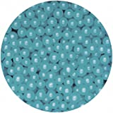 Blue Pearlised Sugar Balls(100g)