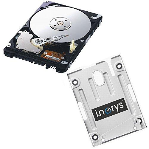 i.norys 320GB Festplatte für SONY PS3 Super Slim (12GB, CECH-400x) + Einbaurahmen + Handbuch/Manual + Positionsschrauben
