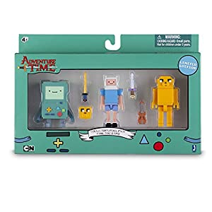 Hora De Aventuras - Pack de Figuras, 3 Unidades, 7 cm (Toy Partner 14609)