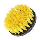 Qlan Bohrer Pinsel, 1 Stück Reinigung Macht Wäscher Reinigung Bohrer Pinsel Kit für Duschen Badewannen Badezimmer Fliesen Fugenmasse Teppich Reifen