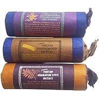 NATURAL FLOW Tibet/Nepal Hand Gerollt Räucherstäbchen–Jatamansi Himalayan Spice & Sandelholz–Pack von 3 preisvergleich bei billige-tabletten.eu