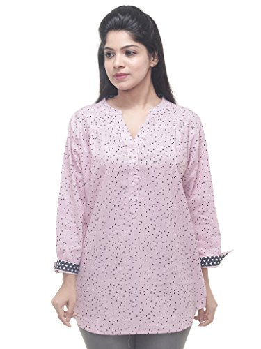 Twist Womens Multicolor Floral Printed Party Wear Casual 3/4th Sleeve Short Kurti...