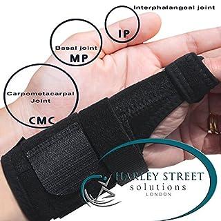 Daumenbandage/Handgelenkbandage, stützt Daumen und Handgelenk. Hypoallergen, nicht ausschlagend, sicher auf empfindlicher Haut. Medizinische und sportliche Verwendung. Unisex, Einheitsgröße L/R Fit