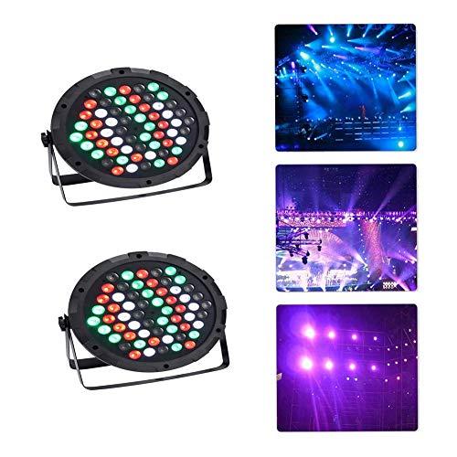 120w Licht Lampe (LED PAR Licht,120W LED Lampe DMX Scheinwerfer Floorspot Stage Bühnenbeleuchtung DJ Party Lichteffekte (120w LED, 2PCS))