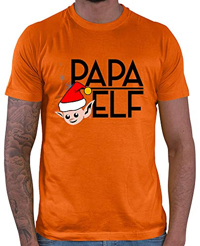 HARIZ  Herren T-Shirt Papa Elf Weihnachten Xmas -