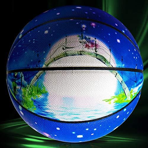 LanBall Baloncesto, Baloncesto De Fluorescencia, Luminoso