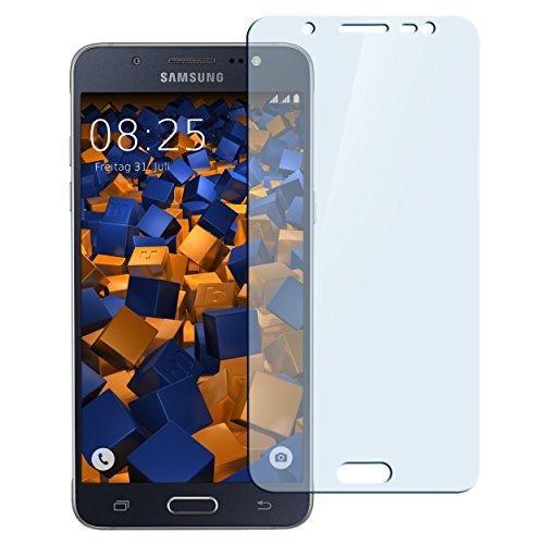 mumbi Hart Glas Folie kompatibel mit Samsung Galaxy J5 2016 Panzerfolie, Schutzfolie Schutzglas (1x)