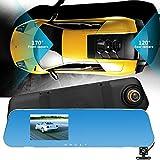 Fahren Recorder, Jamicy 1080 P HD Auto Dash Kamera Dual Cam Fahrzeug Vorne Hinten DVR Objektiv Video Recorder