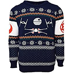 X-Wing Vs. Tie Fighter Official Star Wars Christmas Jumper / Sweater (2X Large)