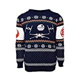 X-Wing Vs. Tie Fighter Official Star Wars Christmas Jumper / Sweater (X Small)