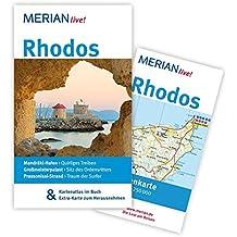 Rhodos: Mit Kartenatlas im Buch und Extra-Karte zum Herausnehmen (MERIAN live)