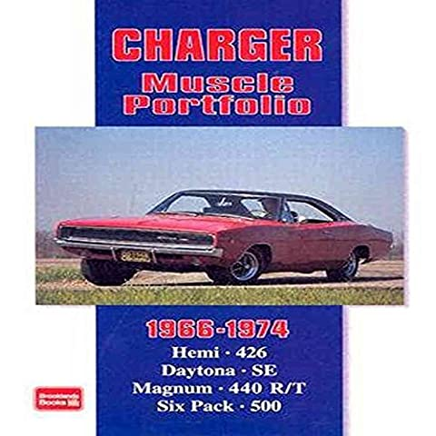 [Dodge Charger Muscle Portfolio 1966-1974] (By: R. M. Clarke) [published: February, 1995]