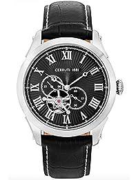 Cerruti 1881 CRA162SN02BK Reloj de pulsera para hombre