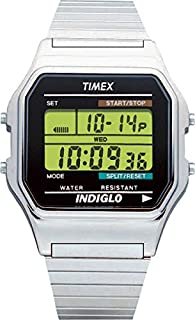 TIMEX Men's Style Watch T78587 ( Timex Men's Style range offers a look for every occasion, a classic everyday men's watch that exubes quality whilst maintaining the all important functionality. With a squared retro style polished stainless steel bezel, d (B0002JSSK8) | Amazon price tracker / tracking, Amazon price history charts, Amazon price watches, Amazon price drop alerts