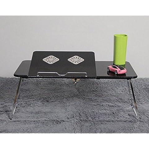 uzi-lazy personas bienestar moda plegable portátil escritorio de escritorio, hogar Radiador ajustable