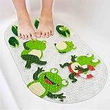 Albeey Badewannenmatte Anti-Rutsch Badematte PVC Karikatur Entwurf Massage Dusche Badematte mit Saugnäpfen für Baby Kinder