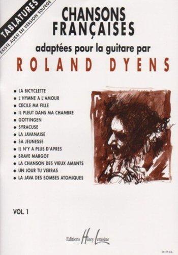Chansons françaises Volume 1 - guitare ...