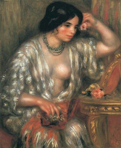 Das Museum Outlet-Gabrielle tragen Schmuck, 1910-Poster Print Online kaufen (152,4x 203,2cm)