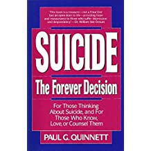 Suicide - The Forever Decision (English Edition)