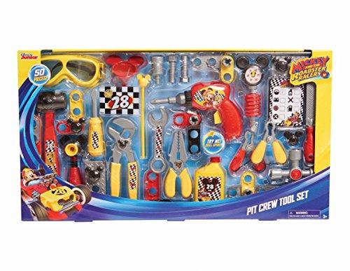 Mickey y la Roadster Coches Pit Crew Juego de Herramientas para