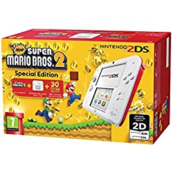 Nintendo 2DS Consola Rojo + New Super Mario Bros 2 (Preinstalado)