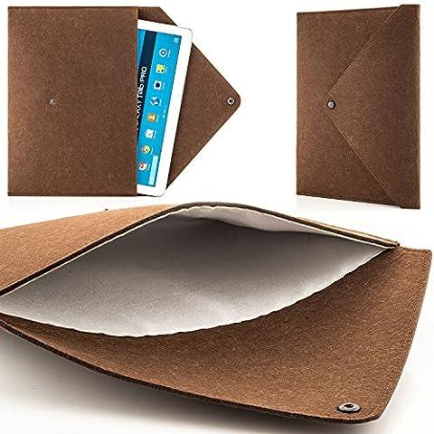 Zanasta Tablet le sac le feutre Sleeve la couverture Universellement le sac de feutre pour 7-12 pouces / Samsung Galaxy Tab / Microsoft Surface Pro / Apple iPad Air / Pro und Macbook 12