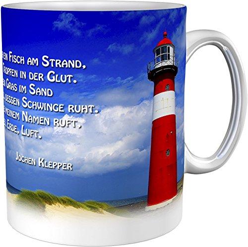 Kaffeetasse/Kaffeebecher/Leuchtturm/Kommunion