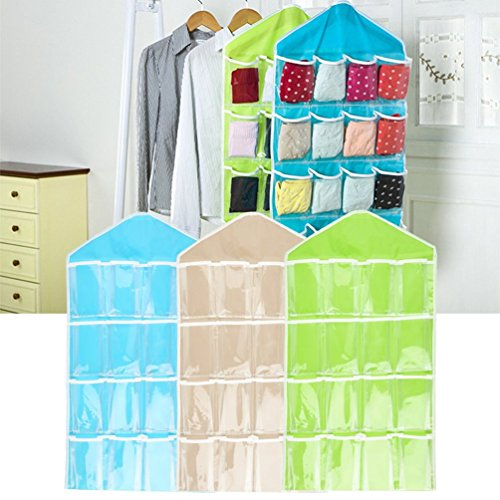 Hanging Bag Toys Storage Tidy Wall Closet Organizer (Pocket Watch Aufbewahrungsbox)