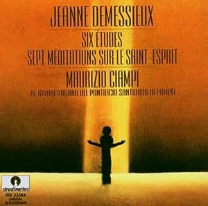 Demessieux : Etudes pour orgue n° 1-6. Ciampi.