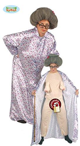 nackte Oma Kostüm für Erwachsene Gr. M/L, (Sexy Kostüme Präsentieren)