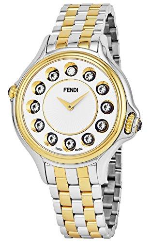 Fendi Women's 38mm Steel Bracelet & Case Swiss Quartz Watch F107134000T06