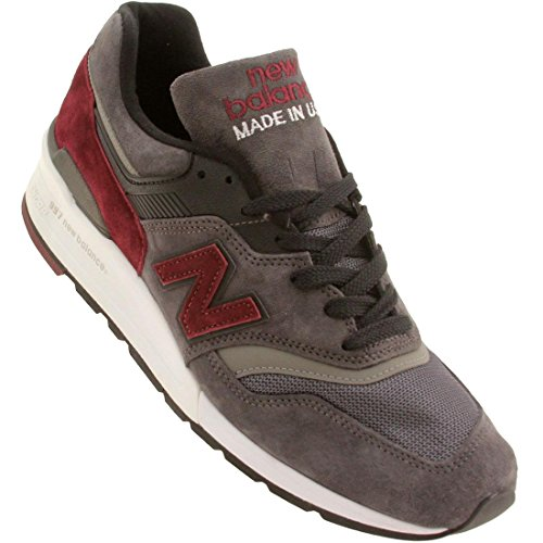 New Balance M997 Made in USA Connoisseur Guitar Pack, CCF Lead grey grau CCF Lead grey grau