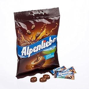 Alpenliebe Espresso Senza Zucchero Caramella Dura - 91 gr
