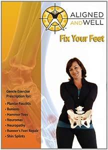 Aligned & Well: Fix Your Feet [DVD] [2012] [Region 1] [US Import] [NTSC]
