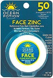 Ocean Potion Face SPF 50 Clear Zinc Oxide 1 Ounce