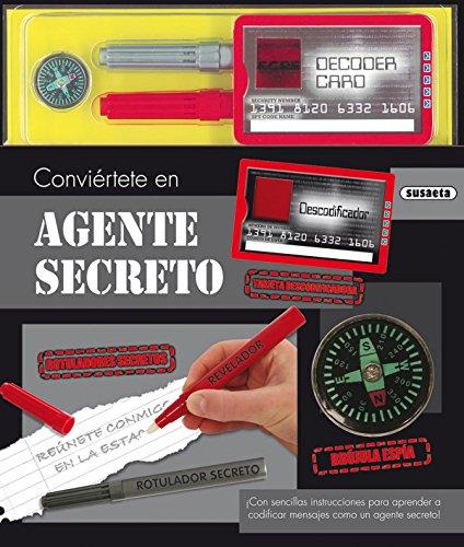 Agente secreto, Conviértete en... (Libros creativos)