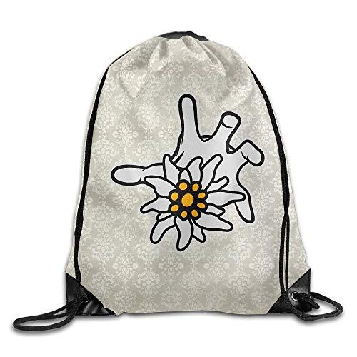 (HLKPE Bertha Unisex Shawn Drawstring Beam Port Shoulders Backpack)