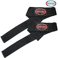 Farabi Sports - Refuerzo de mano acolchado para levantamiento de barra de peso (2 unidades)