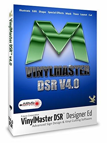 Vinylmaster DSR Erweiterte Grafikdesignsoftware für Schilder- und Plakatläden
