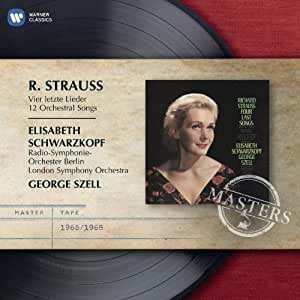 Strauss: Four Last Songs - EMI Masters by Elisabeth Schwarzkopf (2011) Audio CD