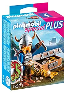Playmobil- with Treasure Especial Vikingo con Tesoro, Color, Miscelanea (5371)