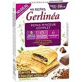 Gerlinéa - Barres Fourrées chocolat saveur Noisette - Gerlinéa