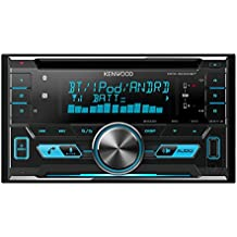 Kenwood Electronics DPX-5000BT - Radio para coche (4 x 50 W, pantalla LCD, USB, Android, iOS), color negro