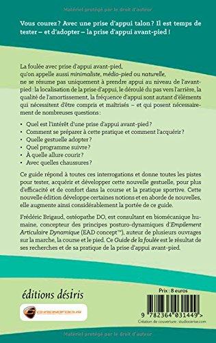 Guide de la Foulée avec prise d'appui avant-pied - 2e édition